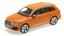 Audi Q7 2015 Orange 1 18 Model Minichamps