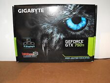 GIGABYTE NVIDIA GeForce GTX 750 Ti Empty Box Packaging Only No Graphics Card