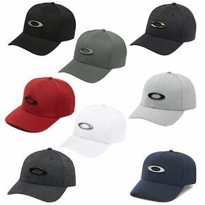 Oakley Tincan Stretch Fit Baseball Cap Basecap 6-Panel Fitted Mütze NEU