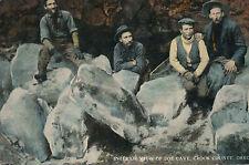 c1915 Joe Cave Interior, Crook County, Oregon Tinted Unused Postcard