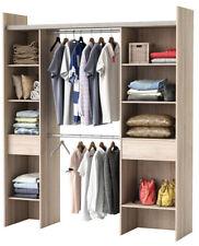 RIESIGER Kleiderschrank #3005 begehbar offen Garderobe Schrank Regal Schublade