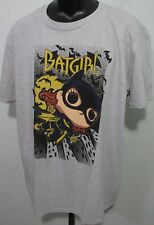 DC Super Heroes Batgirl Funko Pop Tees Adult Size XL Gray Graphic T-Shirt NWOT