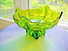 Viking Epic Fruit Bowl Avocado Green c 1960's