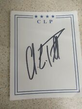 More details for general colin powell hand signed bookplate