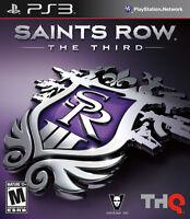 SAINTS ROW THE THIRD | PAL | PS3 | Sony PlayStation 3 - VGC