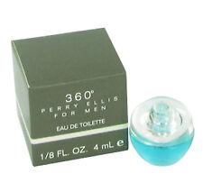 360 for Men By Perry Ellis Eau De Toilette Splash Mini 4ml /0.12 oz New in Box!