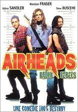 "RARE! DVD ""AIRHEADS"" Adam SANDLER, Brendan FRASER, Steve BUSCEMI"