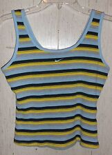 WOMENS / JUNIORS NIKE STRIPE TANK TOP  SIZE L (12/14)