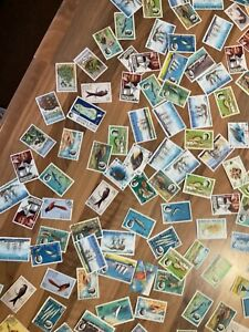 BIOT Indian Ocean fish Birds Boats 155 stamps Lbiot
