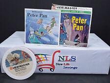 View-Master Reels Walt Disney's Peter Pan & Set Of 12 View Disney Favorites