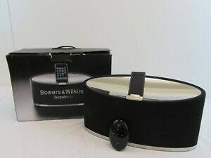 BOWERS & WILKINS ZEPPELIN MINI SPEAKER SYSTEM FOR IPOD/IPHONE IN BOX      #CI#