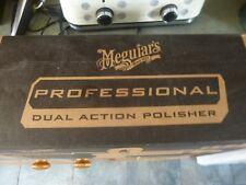 Meguiars NEW MT320 Dual Action Machine Polisher & Meguiars Carry Bag