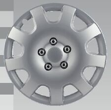 "Universal 16"" Silver ABS After Market Wheel Cover"