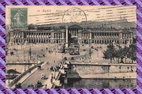 CPA 75 - PARIS - Place de la concorde - panorama