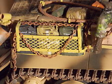 1/16 BearTank Regiment Model Stowage Rack & 3 Jerry Cans for TIGER I.