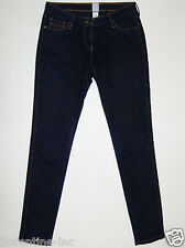 "BEAUTIFUL SASS&BIDE DARK BLUE DENIM SKINNY FIT JEANS 30 ""ZIPPORA"" The New Grace"