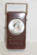 DAIMON FOCUS vintage alte Taschenlampe