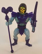 Vintage MotU 1982 Skeletor Figure He Man Soft Head Full Boot - COMPLETE