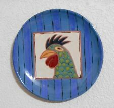 Crow Valley Pottery Rooster Plate Wall Hanging Orcas Island
