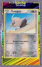 🌈Furaiglon Reverse - XY11 - 92/114 - Carte Pokemon Neuve Française