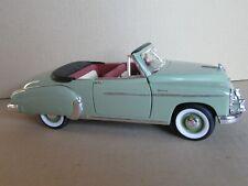79N Solido Chevrolet Deluxe Bel Air 1950 Cabriolet Vert 1:18