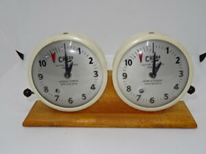 Vintage Collectable Chess Sutton Coldfield Mechanical Timer Clock Clocks