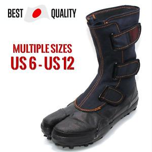 SOKAIDO Outdoor Tabi Shoes Ninja Japanese Boots Footwear Waterproof Asagiri I-88