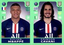 Panini Fifa 365 2020 Sticker 153 - Kylian Mbappe - Edinson Cavani