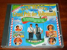 CD Das Beste vom Grand Prix der Volksmusik Siegertitel 1988 1987 1986 BECHT buam