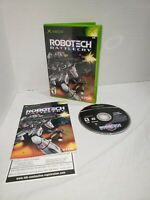 Robotech Battlecry Microsoft Xbox Video Game Complete with Manual *TESTED WORKS*
