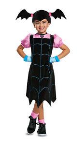 Classic Vampirina Child Girls Costume Size M Medium 7-8 NEW