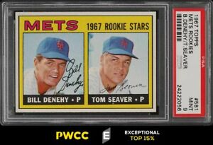 1967 Topps Tom Seaver ROOKIE RC #581 PSA 9 MINT (PWCC-E)
