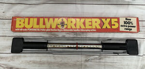 VINTAGE BULLWORKER X5 IN BOX WITH RED RING