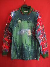 Maillot Adidas années 80 Gardien manche Longue Porté n° 1 Vintage - S