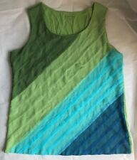COLDWATER CREEK sleeveless shirt, Size 1X (18)