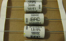 1uF 100V 10% Efc Sp1213Tc-3 axial polypropylene capacitors 25 pcs