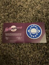 Galaxy Quest Emblem Patch Lootcrate Exclusive