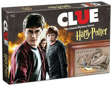 Clue Harry Potter 2016 Edition Board Game New Factory Sealed - USAopoly
