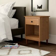 Lafave 1 Drawer Nightstand Caramel