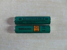 2 X AAA Rechargeable Batteries 500 mAh for BT 1100 BT 1200 BT 1600 bt1700-New