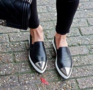 Ladies MIU MIU Shoes/Loafers Size 35 1/2 EU (2 1/2 UK).