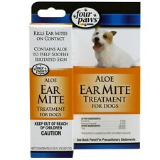 Four Paws Ear Mite Remedy for Dogs (0.75 fl oz) ^
