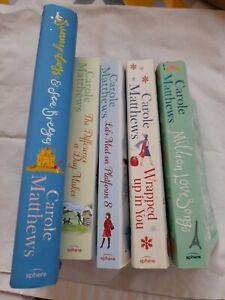5 X Books Carole Matthews