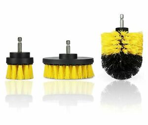 Drill Brush Ultimate Car Wash Kit Cleaning Supplies Floor Carpet Automotive Soft