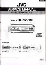 Instrucciones Manual de servicio para JVC xl-z555 BK