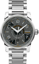 Montblanc Timewalker World-time Southern Hemispheres Men's Stainless Steel Swiss Automatic Watch 108956