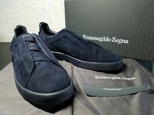 Suede Shoes Ermenegildo Zegna Men's 10