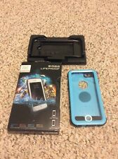 Lifeproof FRE Waterproof Case for iPhone 6/6s Blue, Good Condition Used
