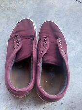VERY Worn Used Vans Skate Shoes Sz 7 Womens
