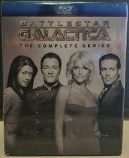 Battlestar Galactica - The Complete Series Universal Blu-Ray Set Vg+ Sci-Fi